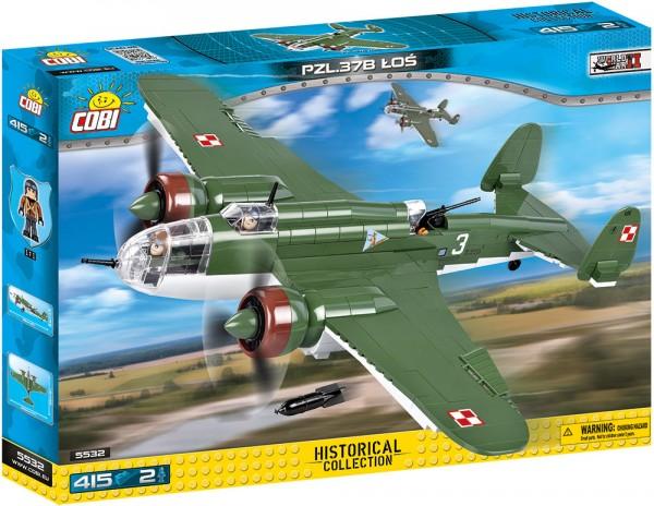 Cobi - 415 Teile SMALL ARMY 5532 PZL P-37B LOS
