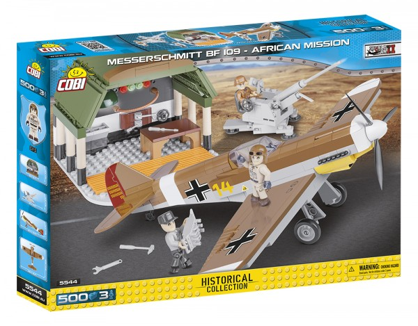 Cobi - 500 Teile SMALL ARMY 5544 MESSERSCHMITT BF F-4 - AFRICAN MISSION