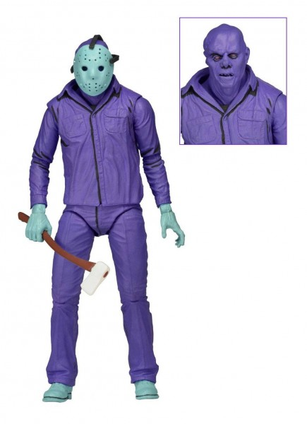 NECA - Friday the 13th: Jason Theme Music Edition (Classic Video Game Appearance) (18 cm)