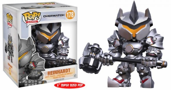 Funko POP! Games - Overwatch: Reinhardt Oversized