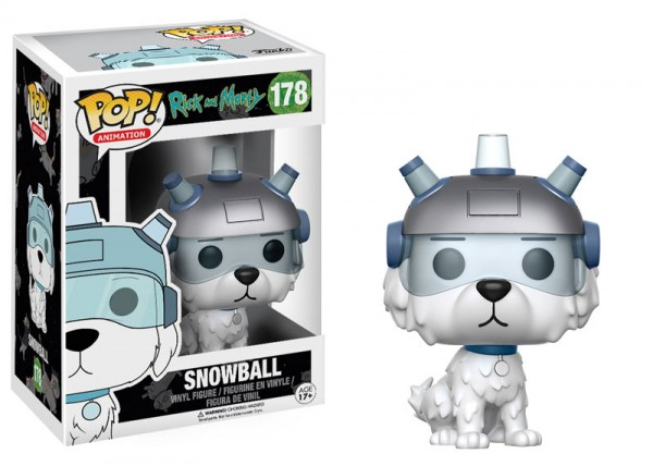 Funko POP! Animation - Rick & Morty: Snowball