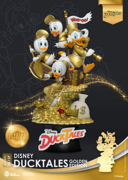 BKT - Disney Classic Animation Series D-Stage: Diorama DuckTales Golden Edition