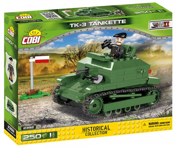 Cobi - SMALL ARMY 2392 TKS 3 TANKETTE