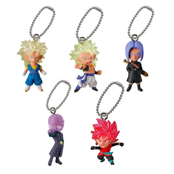 Bandai - Dragon Ball: UDM 21 Gashapon Kapsel Schlüsselanhänger