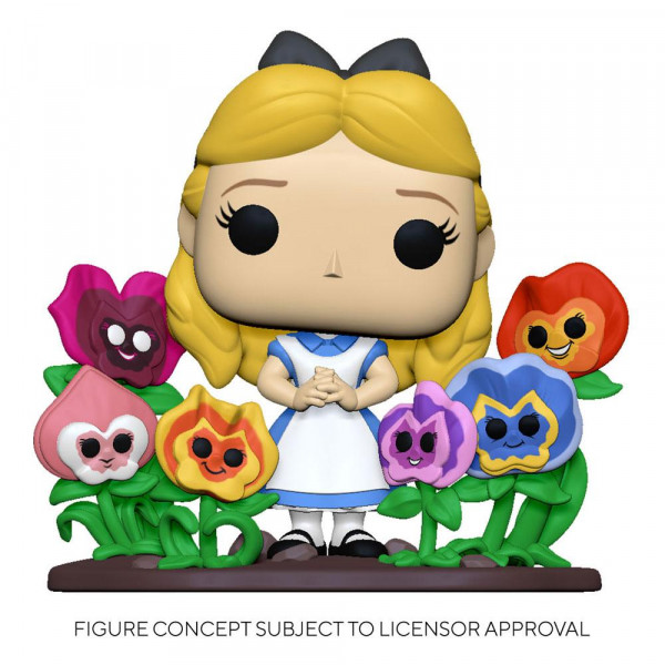Funko POP! Deluxe - Disney - Alice im Wunderland: Alice w/Flowers