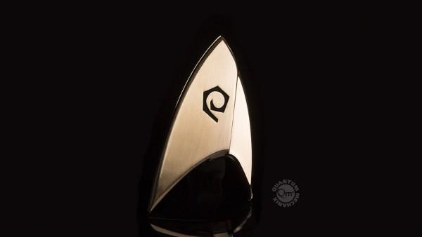 Quantum Mechanix - Star Trek - Magnetic Badge: Operations