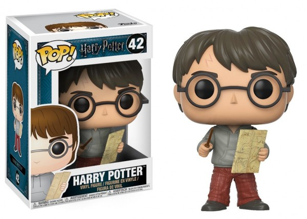 Funko POP! Movies - Harry Potter: Harry with Marauders Map