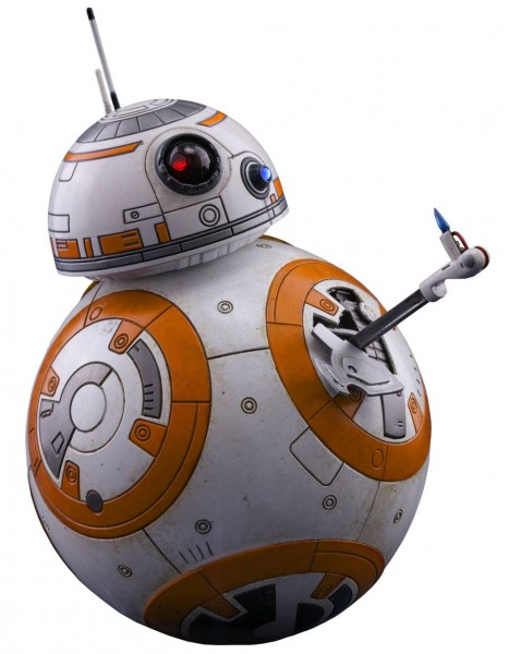 Hot Toys - Star Wars Episode VIII Movie Masterpiece Actionfigur 1/6 BB-8 11 cm