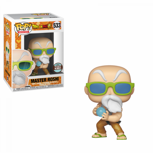 Funko POP! Animation - Dragon Ball Super: Master Roshi (Max Power)