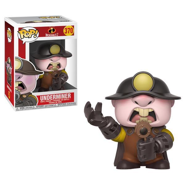 Funko POP! Disney - Die Unglaublichen 2: Underminer