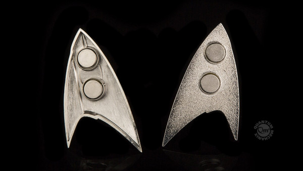 QMX - Star Trek Discovery: Magnetic Badge: Sciences