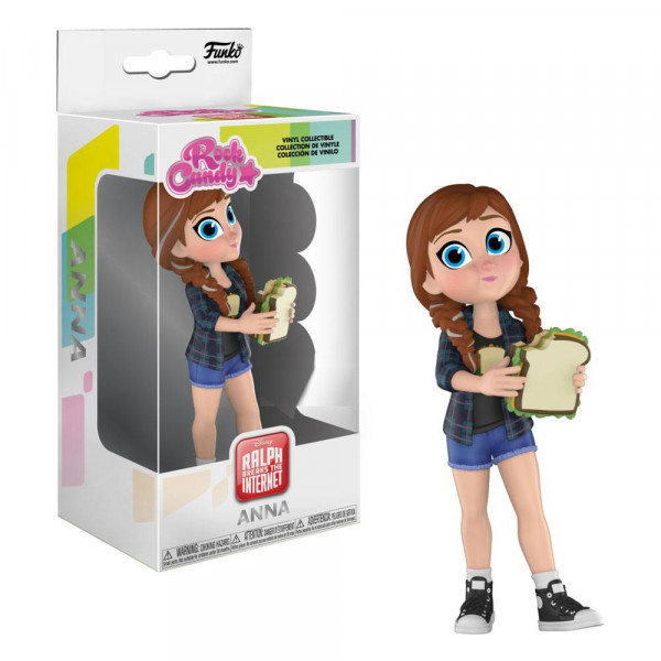 Funko Rock Candy - Disney - Ralph reichts 2: Comfy Princesses Anna