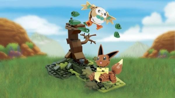 Mattel - Mega Construx Pokemon: Bauz vs. Evoli