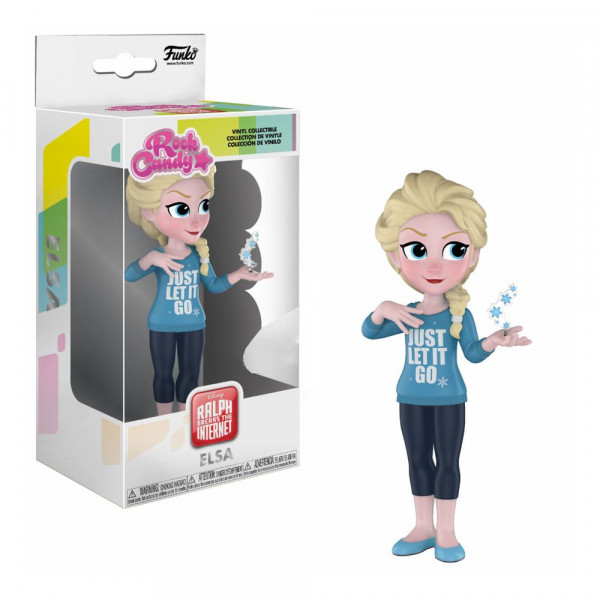 Funko Rock Candy - Disney - Ralph reichts 2: Comfy Princesses Elsa