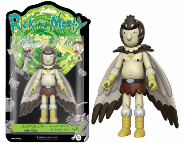 Funko Action Figure - Rick and Morty: Bird Person