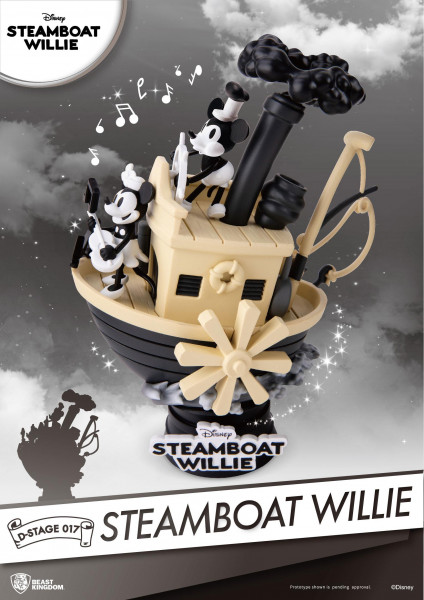 BKT - Steamboat Willie: Mickey & Minnie Diorama