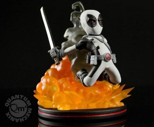 Quantum Mechanix - Q-Fig: Deadpool (Grey)