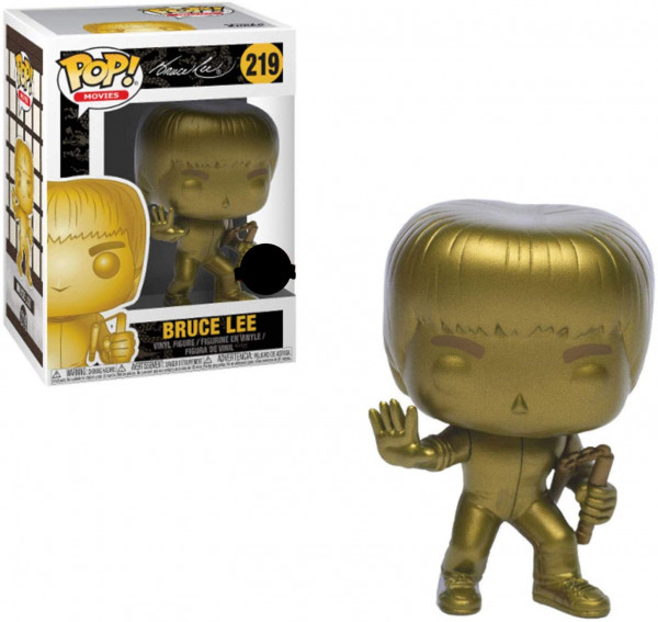 Funko POP! Movies - Game of Death: Bruce Lee Gold Exclusive