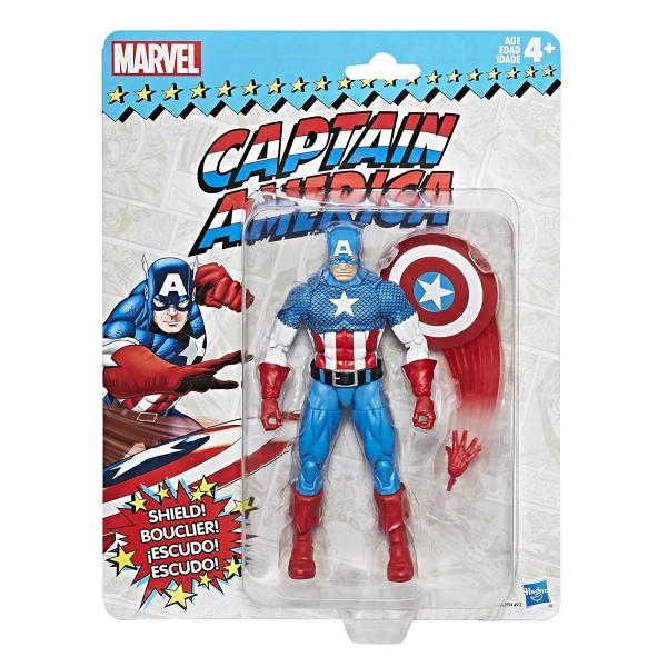 Hasbro - Marvel Legends Super Heroes Vintage: Captain America