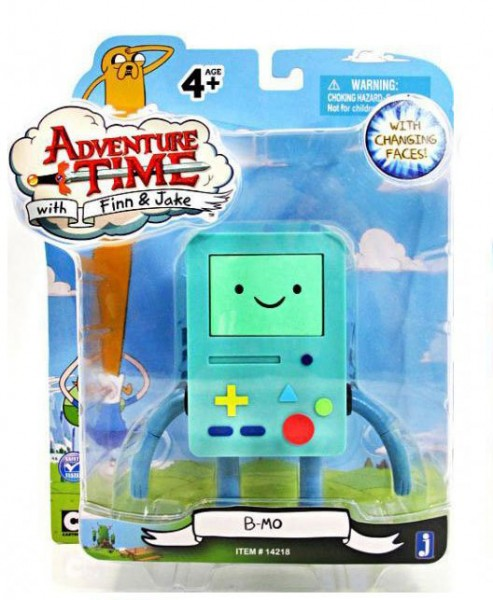 Jazwares - Adventure Time: Face Changing BMO (12 cm)