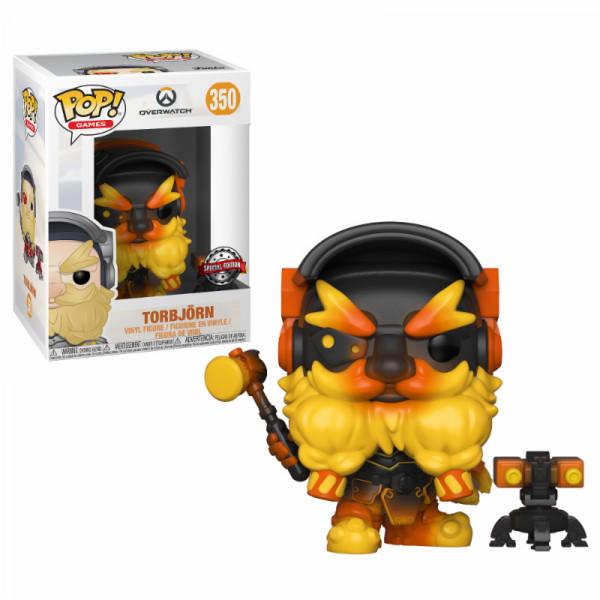 Funko POP! Games - Overwatch: Molten Torbjörn