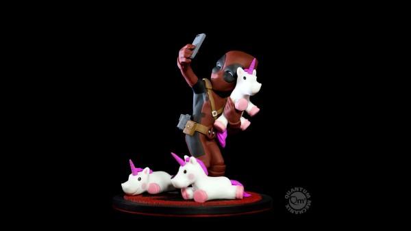 Quantum Mechanix - Q-Fig: Deadpool #unicornselfie