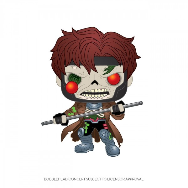 Funko POP! Marvel - Mavel Zombies: Zombie Gambit