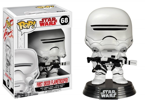 Funko POP! Star Wars Episode VIII - First Order Flametrooper
