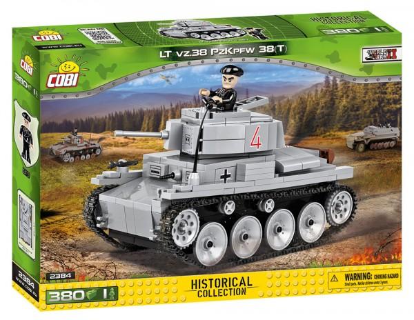 Cobi - 380 Teile SMALL ARMY 2384 LT VZ.38 PZKPFW 38 (T)