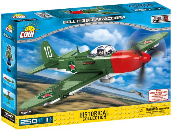 Cobi - 250 Teile SMALL ARMY 5547 BELL P-39Q AIRACOBRA