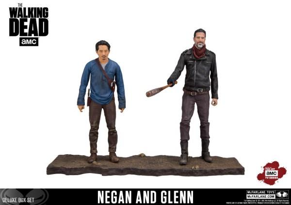 McFarlane Color Tops - The Walking Dead: Negan & Glenn 2-Pack (13 cm)