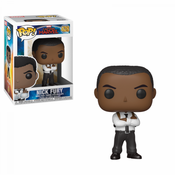 Funko POP! Marvel - Captain Marvel: Nick Fury