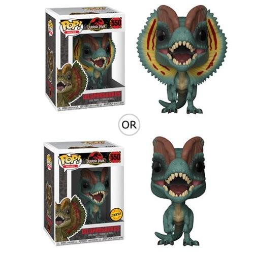 Funko POP! Movies - Jurassic Park: Dilophosaurus (Chase möglich!)