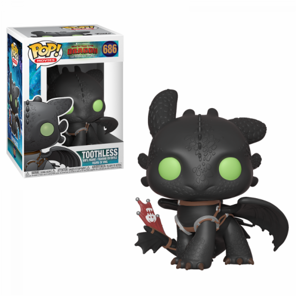 Funko POP! Movies - HTTYD3: Toothless