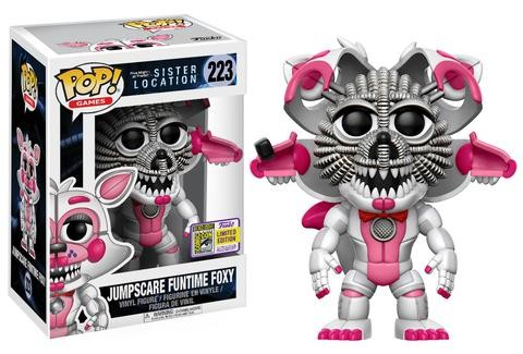 Funko SDCC - Sister Location: Jumpscare Funtime Foxy