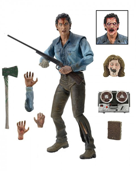 NECA - Evil Dead 2 - Ash Ultimate Action Figure 18cm
