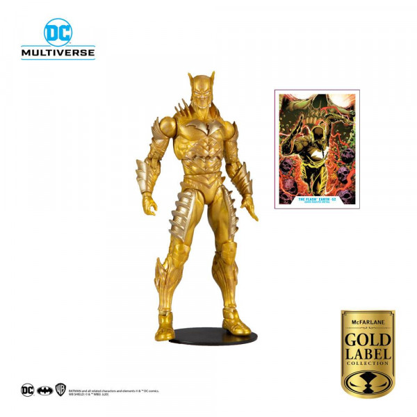 McFarlane - DC Multiverse Actionfigur: Red Death Gold (Earth 52) (Gold Label Series)