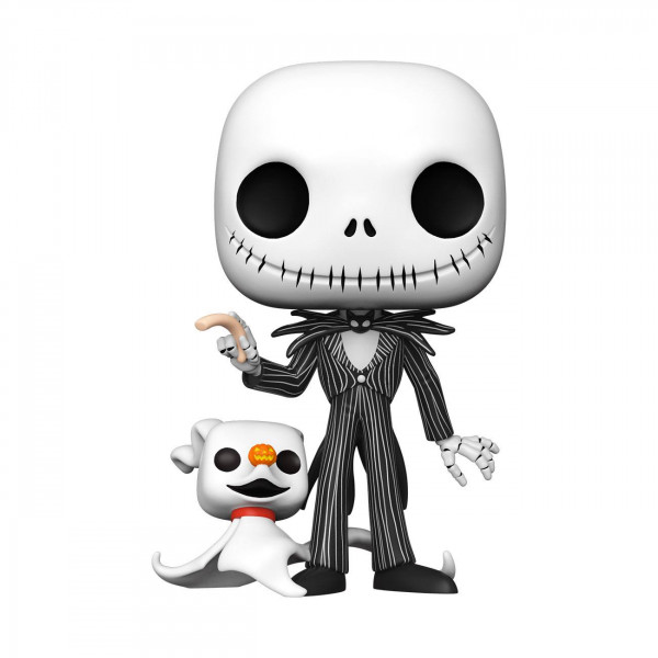 Funko POP! Disney - Nightmare before Christmas: Super Sized Jack w/Zero 25 cm