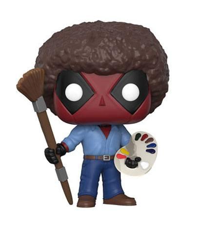 Funko POP! Marvel: Deadpool Bob Ross