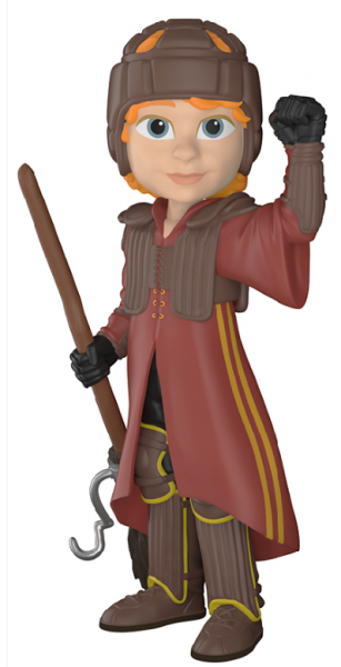 Funko Rock Candy - Harry Potter: Ron in Quidditch Uniform