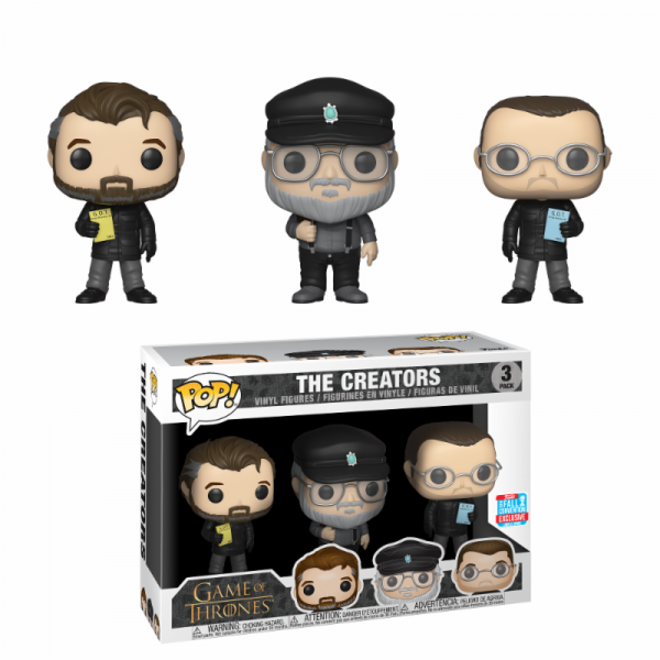 Funko POP! Game of Thrones: Show Creators