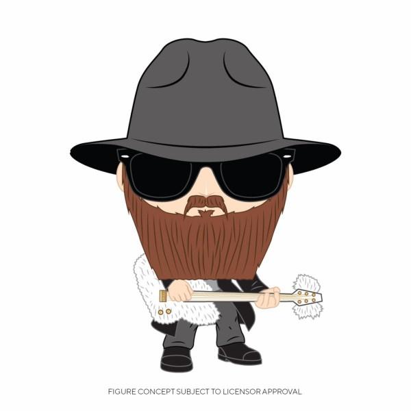 Funko POP! Rocks - ZZ Top: Billy Gibbons