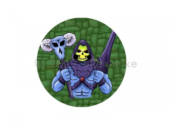 Lootstore Exklusiv-Button (Oktober): Skeleton King