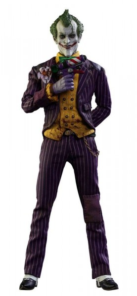 Hot Toys - Batman Arkham Asylum Videogame Masterpiece Actionfigur 1/6 The Joker 31 cm