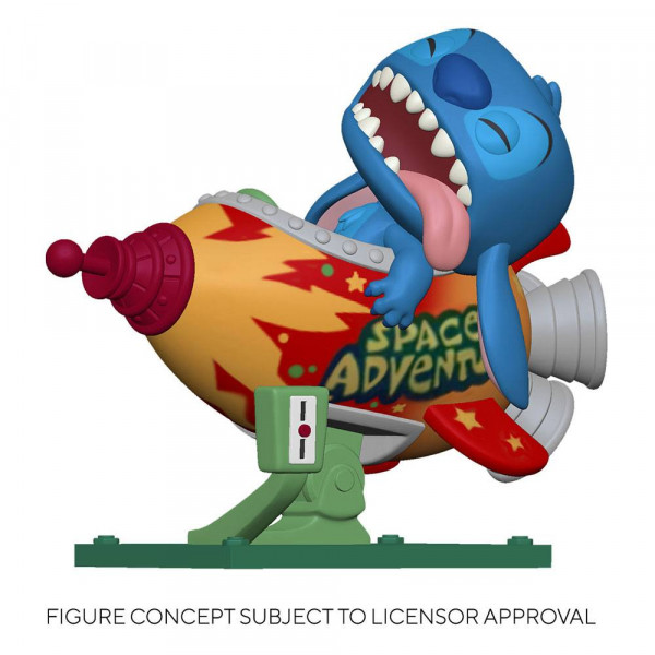 Funko POP! Ride - Disney - Lilo & Stitch: Stitch in Rocket