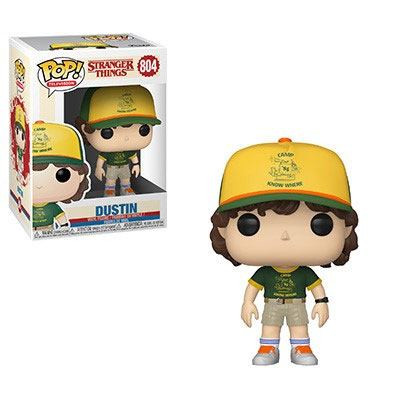 Funko POP! TV - Stranger Things: Dustin (At Camp)