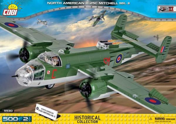 Cobi - 500 Teile SMALL ARMY 5530 NORTH AMERICAN B-25C MITCHELL MK.II