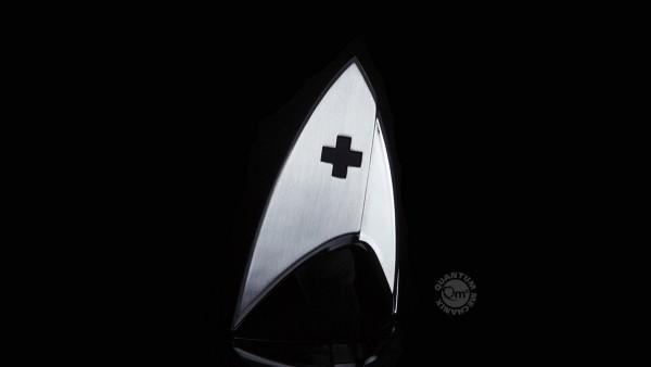 Quantum Mechanix - Star Trek - Magnetic Badge: Medizin