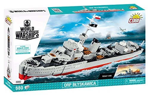 Cobi - World of Warships: Blyskawica (50cm x 30cm x 7cm)