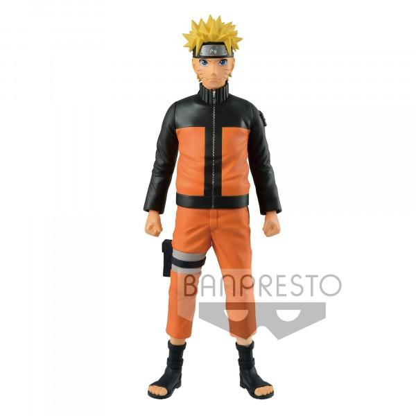 Banpresto - Naruto Shippuden Big Size Vinyl Figur Naruto (27cm)
